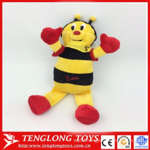 yangzhou factory plush bee, plush bumble bee, bee promotional items