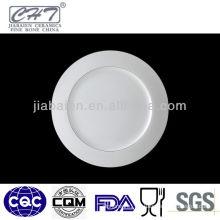 A017 wholesale decorative porcelain dessert tray for wedding