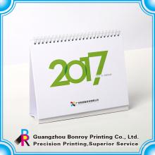 Escritorio de oficina de estilo chino nuevo diseño de calendario de impresión