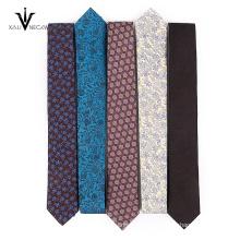 Высокое качество 100% Шелковый галстук Жаккардовый Сплетенный Шелковый мужской
