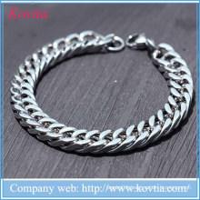 christmas 2015 men bracelet wholesale bijoux jewelry cool stainless steel bracelet