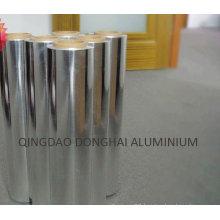 Household aluminium foil in small roll