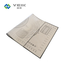 295*420mm 0.7mm Thickness Silicone Baking Mat