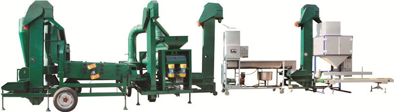 seed cleaning line