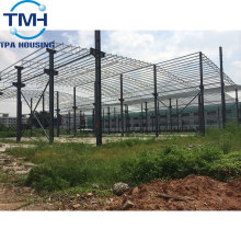 prefabricated steel structure building warehouse in europe
