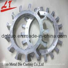 Präzisions-Aluminium-Druckguss für Getriebe mit ISO9001: 2008, SGS, RoHS