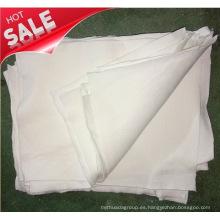 Reciclaje de trapos de algodón blanco