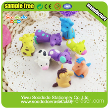 Fancy Animal Ställer Novelty Horse Rubber Eraser