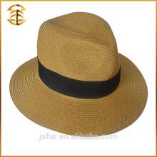 Chapeau de plage de pataille de Fedora Boater promotionnel d'été sur mesure