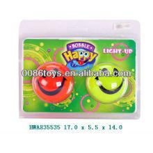Bola sonriente con luz para niños
