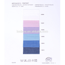 блестящие 100% хлопок ткань рубашечная в простой дизайн