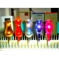 Plastikbecher Glas Parfüm Flasche Siebdruck