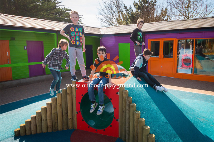 toddler tunnel park playground for children