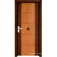 Porte intérieure en bois (LTS-102)