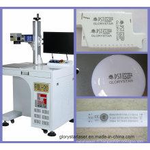 Machine de marquage laser à fibre avec dispositif rotatif avec Fol-10/20