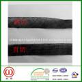 Corte recto o corte sesgado Cinturones interlineados Cierres suaves de 0.5cm o 0.8cm entrelazados