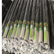 Cubierta plástica negra de la tierra / tela tejida PP del paisaje / tela de control de la mala hierba