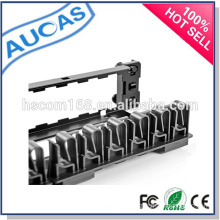 24/48 ports fiber optic patch panel / Rack mount patch panel / cable management /cat5e cat6 modular patch panel