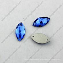 9X18mm Dz-3066 Navette cose en piedras de cristal de cristal para la decoración del vestido en China Rhinestone