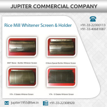 Sturdy and Durable Rice Mill Whitener Screen and Holder at Best Price