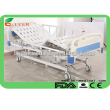 3 function electric hospital beds for sale with luxury castors