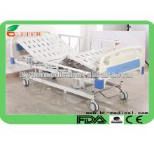 Novo design 3 marcas de cama de hospital de função