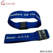 Vente chaude Promotion cadeau bracelet soie impression (LM1494)
