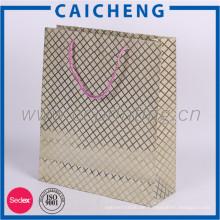 Luxus Recycling Top Qualität Shopping Kraftpapier Tasche