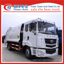 new condition 12cbm capacity of CAMC garbage truck