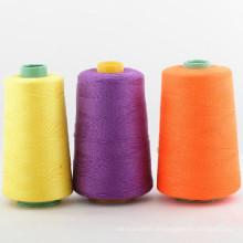40s / 3 100% gesponnenes Polyester-Nähgarn