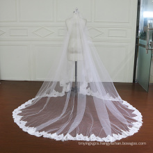 One Layer Lace Veil Without Comb