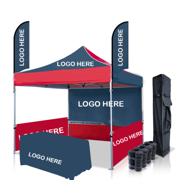 Gazebo pop-up in alluminio