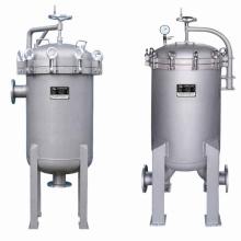 Edelstahl-Mehrfachbeutel-Filtergehäuse für Wasserbehandlung
