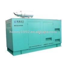 Groupe électrogène diesel sans bruit de 312.50kVA (HCM344)