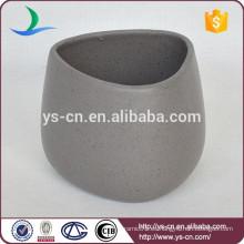 YSb50031-01-t 2015 Nuevos Productos vaso cerámico de mármol imitado
