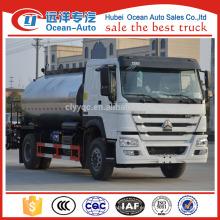 Howo marca 10cbm asfalto distribuidor camión / asfalto inteligente distribuidor camión para la venta