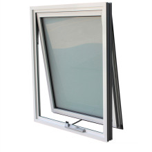 Aluminum Glass Top Hung Awning Windows Aluminum Casement Sliding French Tempered Laminated Double Triple Glazed Door
