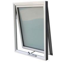 Aluminum Glass Top Hung Awning Windows Aluminum Casement Sliding French Tempered Laminated Double Triple Glazed Door