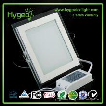 1*2 PF 0.95 Aluminum warm/natural/day glass panel lamp
