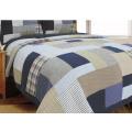 Простое лоскутное одеяло в современном стиле из тонкого лоскутного одеяла (WSPQ-2016004)