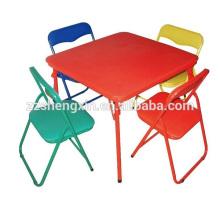 Chaises à dossier pliant pour enfants Metal Desk à vendre