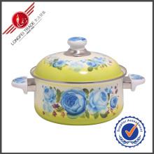Potenciômetro de cozimento quente do Cookware do esmalte da venda