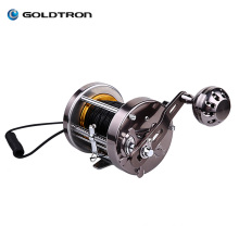 GOLDTRON 5inch Portable Underwater Visual Fishing Finder Video Camera  with Fishing rods and wheel trolling fishing reels