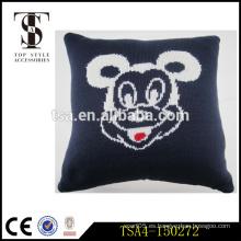 Mickey mouse inflatable almohada almohada hotel adecuado decoración cojín de asiento