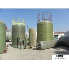 Tanque FRP para Recipientes Químicos