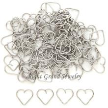 316L Surgical Steel Heart Helix Piercing Jewelry