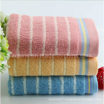 100% Combed Cotton Towel with Logo (AQ-021)