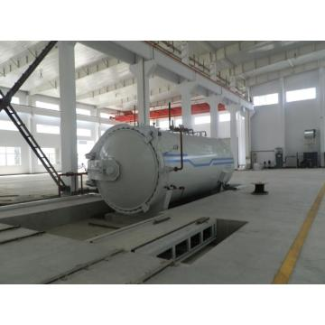 Desain UG 3D Kaca Laminating Autoclave Glass Reactor