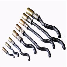 Soquete de vergalhão pré-fabricado / âncora de elevação com forma de cauda ondulada (hardware de construção)