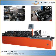 Automático de metal de acero perno prisionero de laminación en frío que forma la línea / 4 tornillo de acero de control automático que hace la máquina